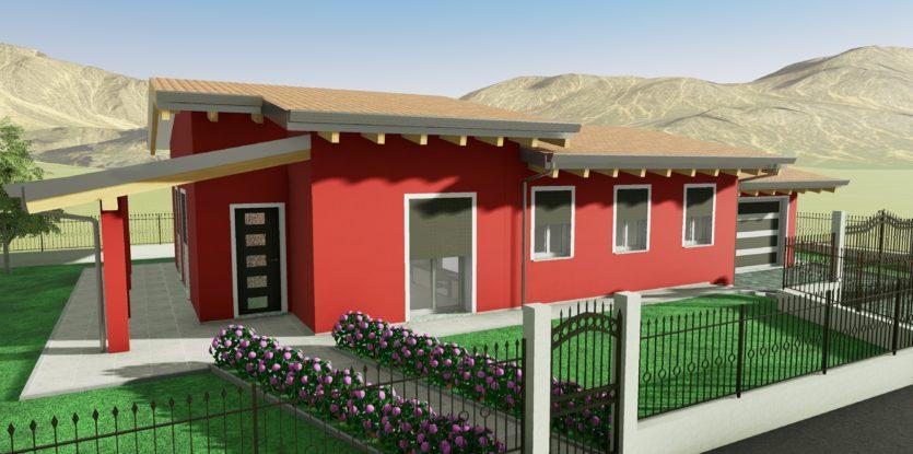 Progetti villette singole amazing cheap progetti casa in for Foto villette singole